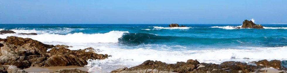 Barrañán Beach: Video for meditation