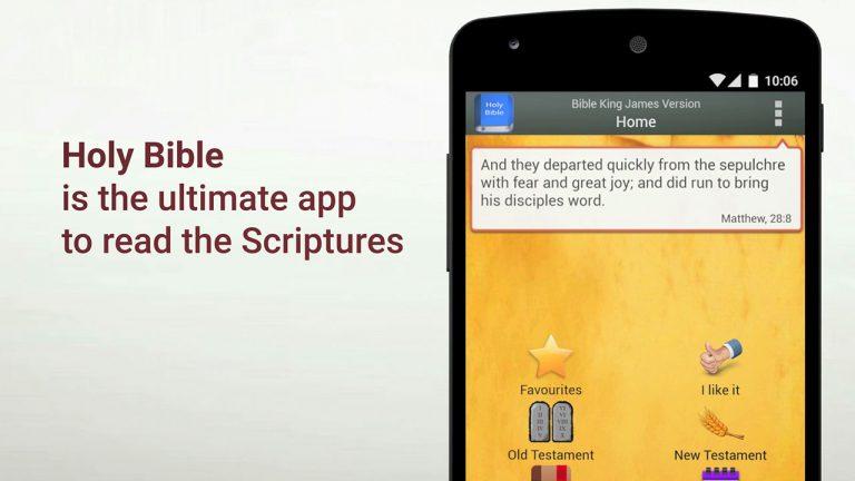 Holy Bible   Vídeo para app