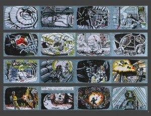 Storyboard de Alien
